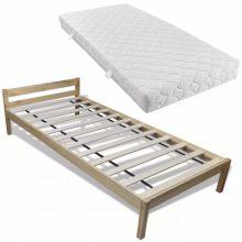 """Fa ágy 90x200 cm """"V7"""", matraccal"""