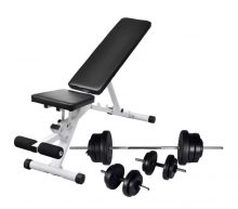 VID edzőpad egykezes és kétkezes súlyzókészlettel 60,5 kg 290840