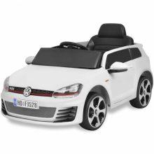 VID Ride-on VW Golf GTI 7 12V Elektromos kisautó+távirányító fehér