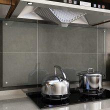VID átlátszó edzett üveg konyhai fröccsenésgátló 120 x 60 cm