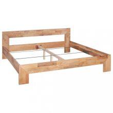 VID tömör tölgyfa ágykeret 160 x 200 cm