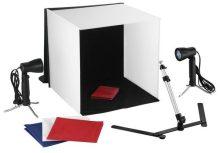 Fotószett termékfotózáshoz - fotóbox