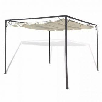VID 3x3m pavilonos kerti sátor behúzható tetővel