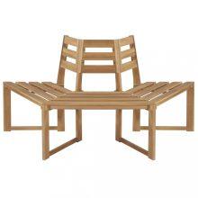 VID fa köré építhető fél- tömör akácfa pad