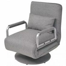 VID Forgószék és kanapé, 2in1 - világosszürke