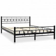 """VID Fém ágy 140x200 cm """"V3"""", ágyráccsal"""