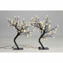 VID Karácsonyi cseresznyevirágfa 2 db - sárga fényű
