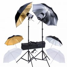 Stúdió felszerelés 6db ernyővel