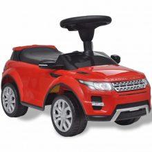Elektromos kisautó piros Land Rover