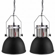 VID Modern mennyezeti lámpa fekete színben