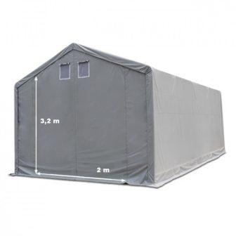 Raktársátor 3x6m professional 3m oldalmagassággal, 550g/m2
