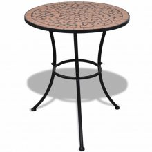 VID Mozaik kerti asztal 60 cm több terrakotta színben