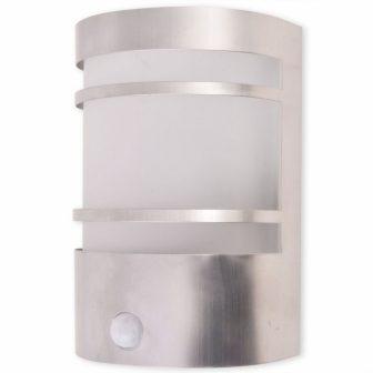 VID Kültéri rozsdamentes acél fali lámpa mozgásérzékelővel