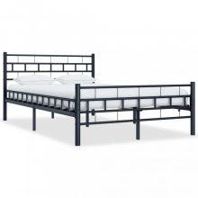 VID fekete acél ágykeret 120x200 cm