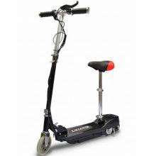 VID fekete elektromos roller üléssel 120 W