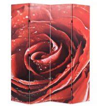 VID piros paraván 160 x 180 cm rózsa