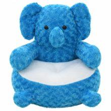 VID kék elefánt plüss fotel/játék