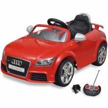 Elektromos kisautó piros Audi TT RS
