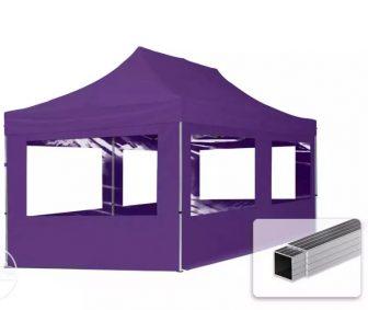 Professional összecsukható sátrak ECO 280g/m2-alumínium szerkezettel-3x6m-lila