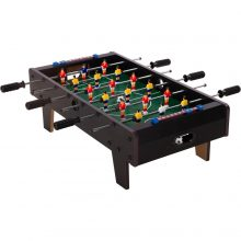 MAX Mini Kicker cso-csó asztal lábakkal [fekete színben]