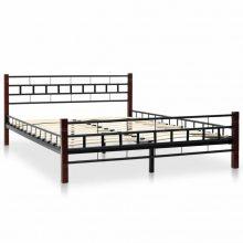 """VID Fém ágy 140x200 cm """"V5"""", ágyráccsal"""