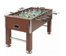 VID barna mdf és acél csocsóasztal 140 X 74,5 X 87,5 CM