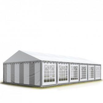 TP Professional deluxe 8x36m-2,6m oldalmagasság, 550g/m2 rendezvénysátor extra vastag acélszerkezettel