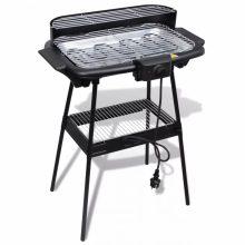 Elektromos barbecue grillsütő álvánnyal