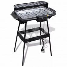 VID Elektromos barbecue grillsütő álvánnyal