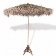 VID bambuszernyő banánlevél tetővel 210 cm