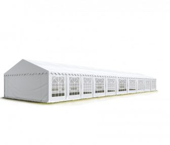 TP Professional deluxe 6x20m-2,6m oldalmagasság, 550g/m2 rendezvénysátor extra vastag acélszerkezettel