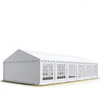 TP Professional deluxe 8x12m nehéz acélkonstrukciós rendezvénysátor erősített tetőszerkezettel