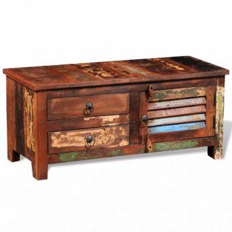 VID Újrahasznosított tömör fa TV szekrény