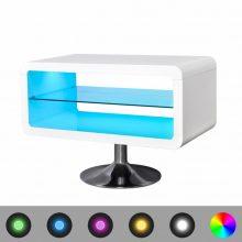 VID Magas fényű TV szekrény, LED világítással