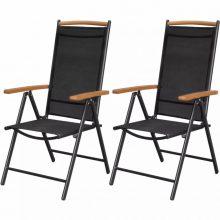 VID 2 db-os kerti szék szett Polywood