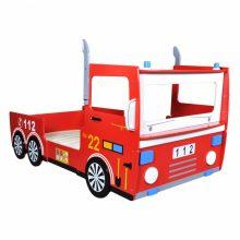 VID Tűzoltó autó formájú gyerekágy