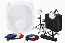 2 darabos fotószett termékfotózáshoz - fotóbox - fotódoboz - light box