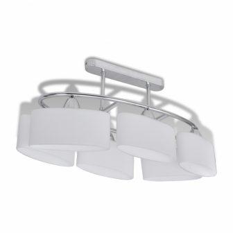 VID-Mennyezeti lámpa 6 db ellipszis búrával