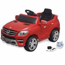 Elektromos kisautó piros Mercedes Benz ML350