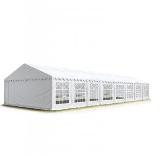 TP Professional deluxe 6x16m-2,6m oldalmagasság, 550g/m2 rendezvénysátor extra vastag acélszerkezettel tűzálló