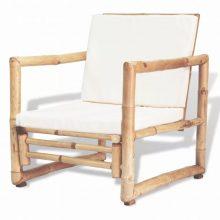 VID 2 darab bambusz kerti szék 60 x 65 x 72 cm