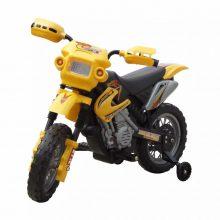 Elektromos motorkerékpár gyerekeknek sárga