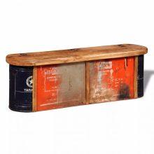 Antikolt hatású pad tárolórekesszel