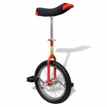 """VID Egykerekű kerékpár - 16 """"- piros"""