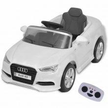 Elektromos kisautó fehér Audi A3