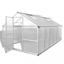 VID megerősített alumínium üvegház alapkerettel 9,025 m2