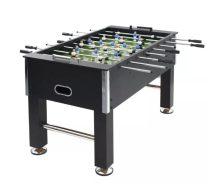 VID fekete MDF és acél csocsóasztal 140 x 74,5 x 87,5 cm