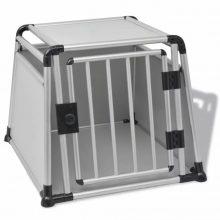 VID kutyaszállító doboz alumínium L