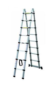 EPT Alumínium teleszkópos létra/állvány 5 m
