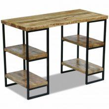 VID Ipari stílusú polcos íróasztal